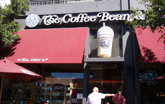 The Coffee Bean And Tea Leaf The Sunset Strip The Sunset Strip